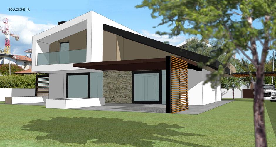 Villette moderne progetti arianna x m with villette for Progetti di casa di lusso